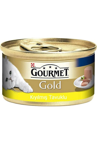 Purina Gourmet Gold Kıyılmış Tavuk 85 gr
