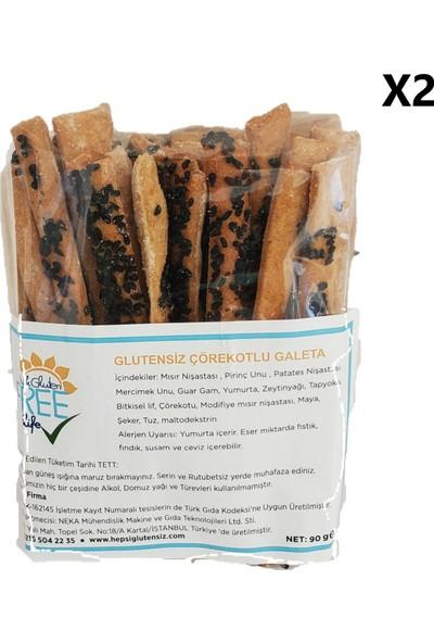 Glutensiz Neka Çörek Otlu Glutensiz Galeta 2 x 90 gr