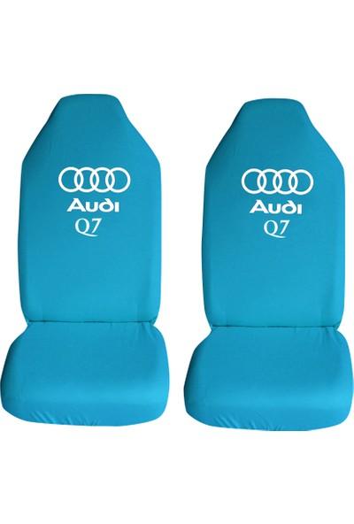 Öztoptan Audi Q7 Özel Araba Oto Koltuk Kılıfı Ön Koltuklar Turkuaz