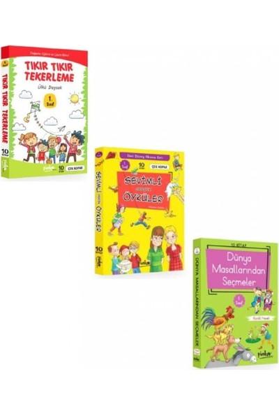 Pinokyo 1. Sınıf Hikaye Seti 3 Kutu 30 Kitap