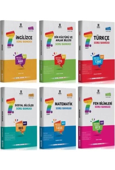 Başka 7. Sınıf Tüm Dersler Soru Bankası Seti 6 Kitap