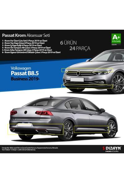 S-Dizayn Volkswagen Passat B8.5 Business Krom Aksesuar Seti 24 Parça