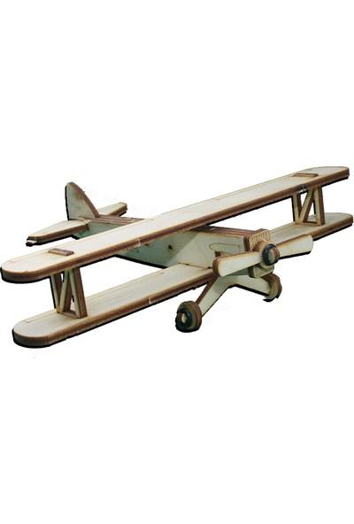 Hobi Modelci Ahşap Maket Uçak Uçak Letov