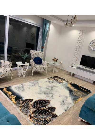 Apree Home Gülistan Tay Tüyü Kaymaz Tabanlı Yıkanabilir Halı 80 x 140 cm