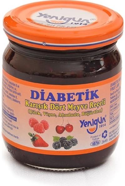 Yenigün Diyabetik Karışık Dört Meyveli Reçel 230 gr