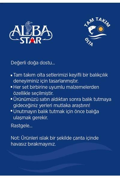 Albastar Tam Takım Usta Lrf Olta Seti TTS022