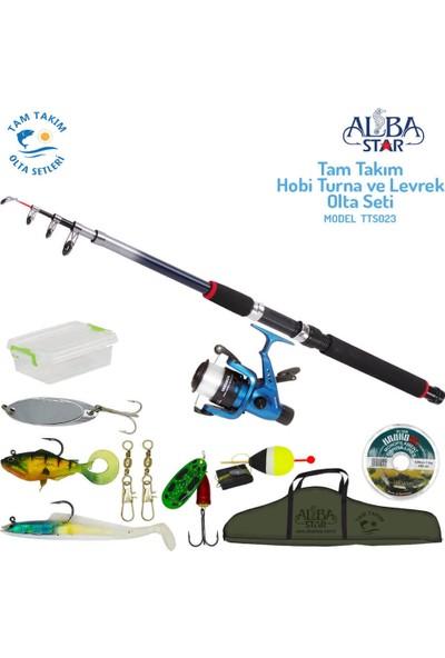 Albastar Tam Takım Hobi Levrek ve Turna Olta Seti TTS023