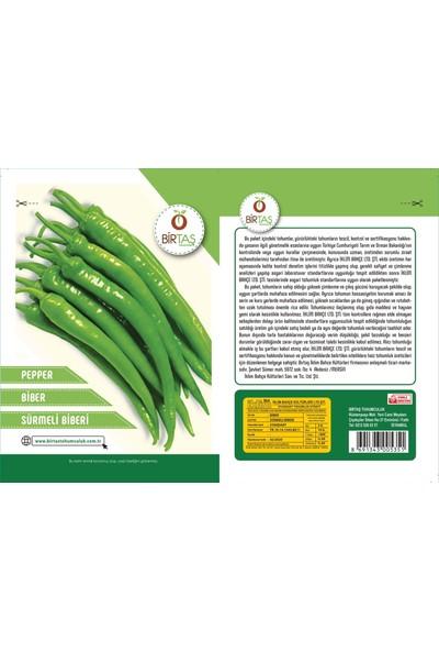 Birtaş Sürmeli Tatlı Sivri Biber Tohumu Paket