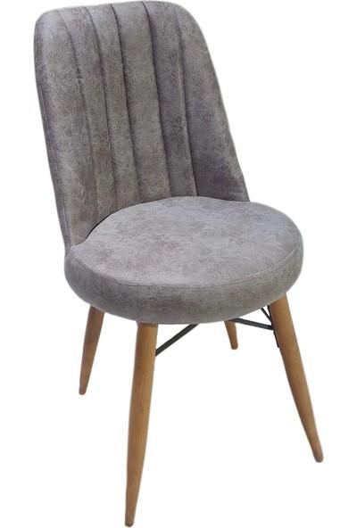 Solay Home Ahşap Ayaklı Sandalye