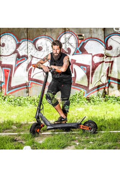 Inokim Ox Oxo Siyah Elektrikli Scooter