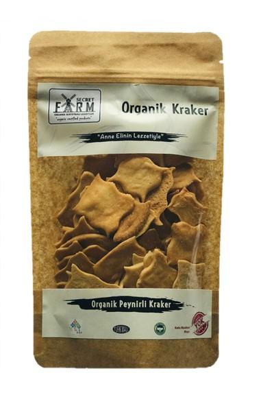 Secret Farm Organik Peynirli Kraker 100 gr