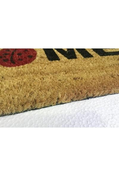 Giz Home Koko Kapı Paspası 33X60 Cm Krem Home Uğur