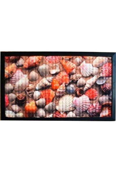 Giz Home Kosta Kapı Paspası 45X75 Deniz Kabuğu