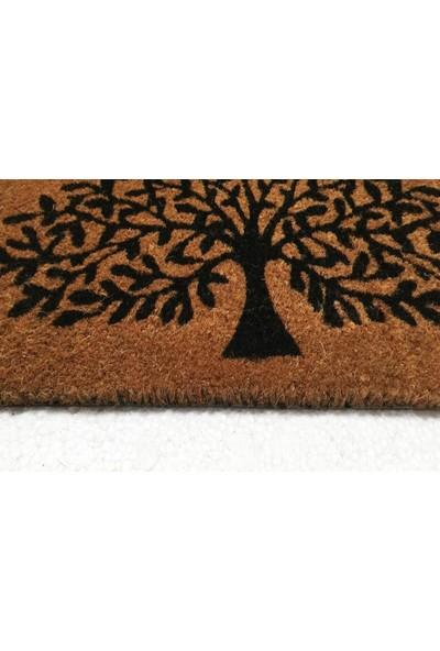 Giz Home Koko Kapı Paspası 35X60 Ağaç