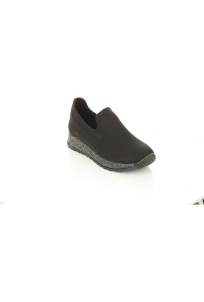 Marine Shoes 154-1 Siyah Ayakkabı