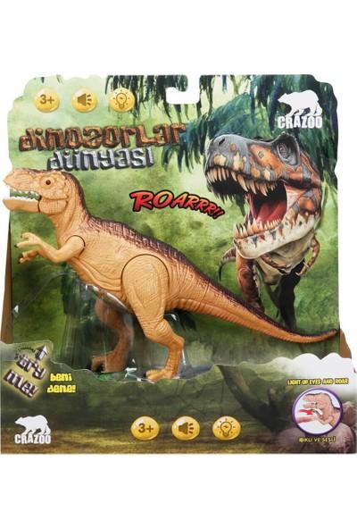 Crazoo Sesli Işıklı Dinozor