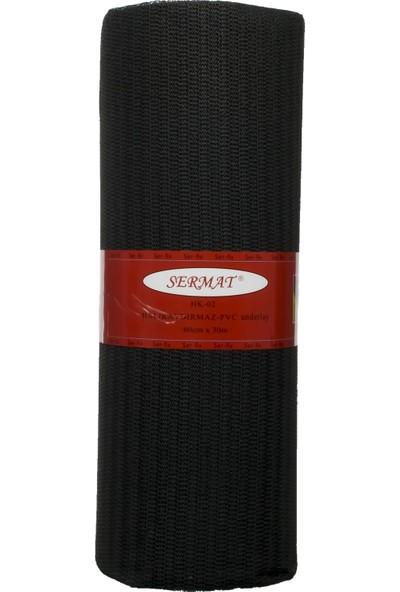 Sermat Halı Kaydırmaz Örtü Kaydırmaz Raf Örtüsü Raflık 60 cm x 1 mt Ince Renk:siyah