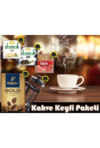 Karma Kahve Keyfi Paketi + French Press