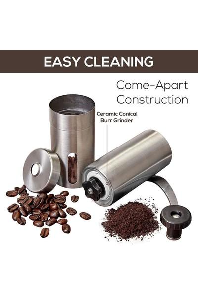 Havana Kahve Değirmeni Öğütücü Paslanmaz Çelik
