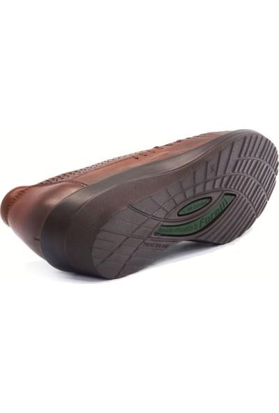 Forelli 26202 Kadın Taba Comfort Ayakkabı