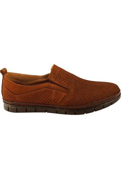 Forelli 44303 Erkek Taba Süet Comfort Ayakkabı