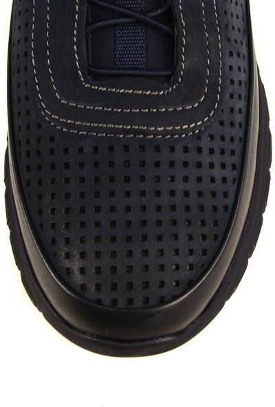 Forelli 45842 Erkek Lacivert Comfort Ayakkabı