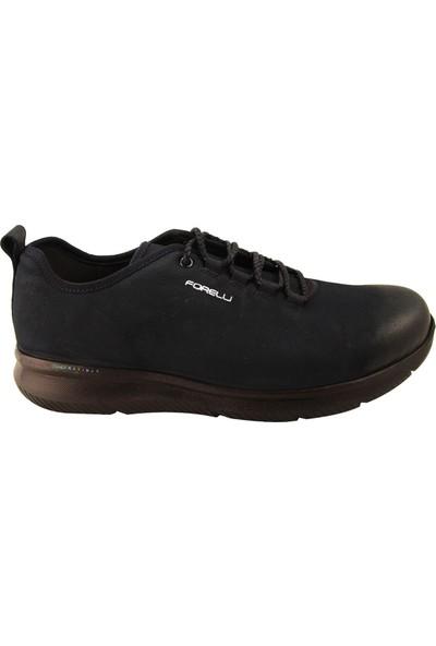Forelli 45925 Erkek Lacivert Nubuk Comfort Ayakkabı