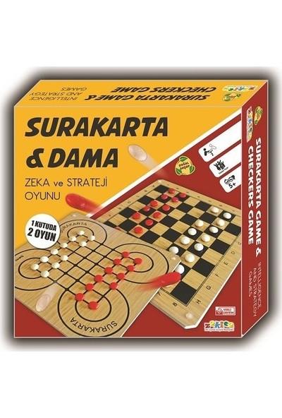 Zekice Surakarta ve Dama Zeka Strateji Oyunu