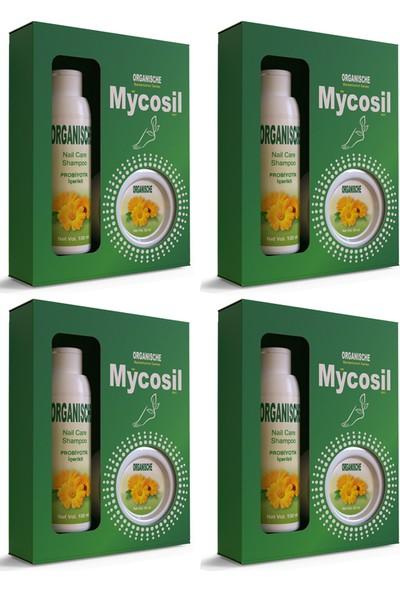 Organische Mycosil Tırnak Mantarı Seti 4 Kutu