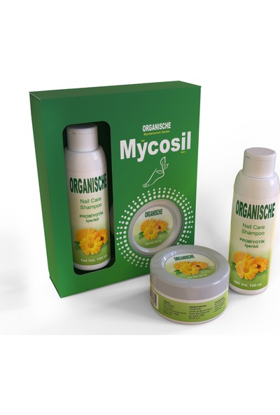 Organische Mycosil Tırnak Mantarı Seti Krem + Şampuan