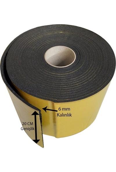 Center Acoustic Kauçuk Bant 6 mm x 196 mm x 10 m