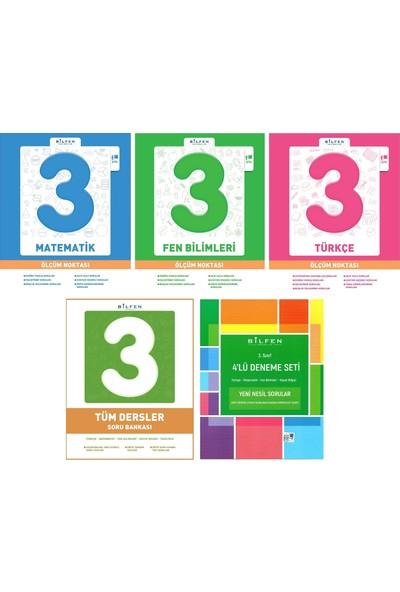 Bilfen Yayınları 3. Sınıf Tüm Dersler + Ölçüm Noktası + Deneme Seti 5 Kitap