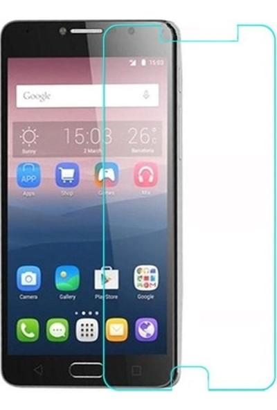 HerBütçeye Maxi Alcatel Pop 4s Şeffaf Temperli Cam