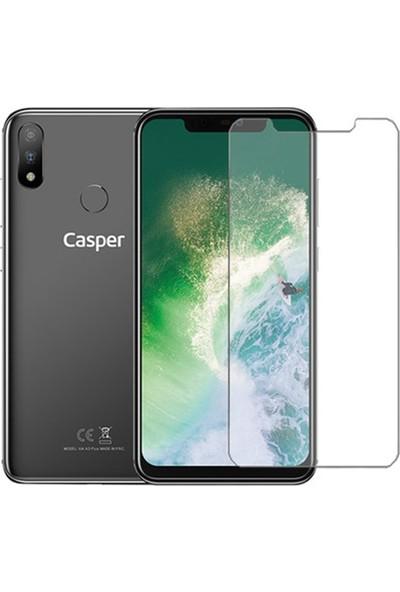 HerBütçeye Maxi Casper Via A3 Plus Şeffaf Temperli Cam
