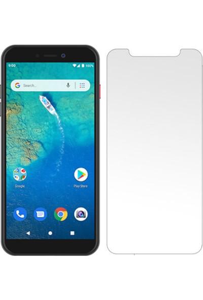 HerBütçeye Maxi General Mobile GM Android 4g Şeffaf Temperli Cam
