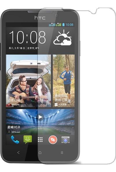 HerBütçeye Maxi HTC Desire 516 Şeffaf Temperli Cam