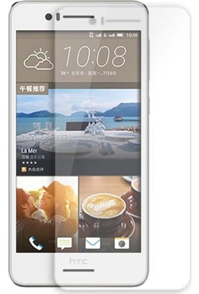 HerBütçeye Maxi HTC Desire 728 Şeffaf Temperli Cam
