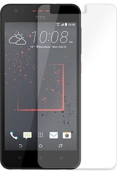 HerBütçeye Maxi HTC Desire 825 Şeffaf Temperli Cam
