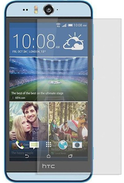 HerBütçeye Maxi HTC Desire Eye Şeffaf Temperli Cam