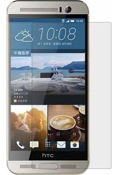 HerBütçeye Maxi HTC One M9 Plus Şeffaf Temperli Cam