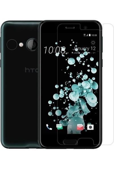 HerBütçeye Maxi HTC U Play Şeffaf Temperli Cam