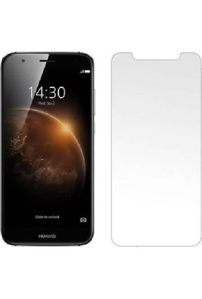 HerBütçeye Maxi Huawei Ascend G8 Şeffaf Temperli Cam