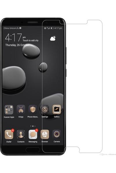 HerBütçeye Maxi Huawei Mate 10 Şeffaf Temperli Cam
