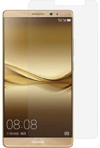 HerBütçeye Maxi Huawei Mate 8 Şeffaf Temperli Cam