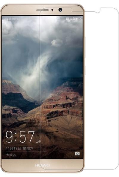HerBütçeye Maxi Huawei Mate 9 Şeffaf Temperli Cam