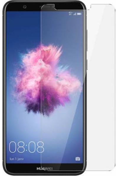 HerBütçeye Maxi Huawei P Smart Şeffaf Temperli Cam