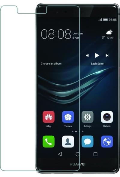 HerBütçeye Maxi Huawei P9 Şeffaf Temperli Cam