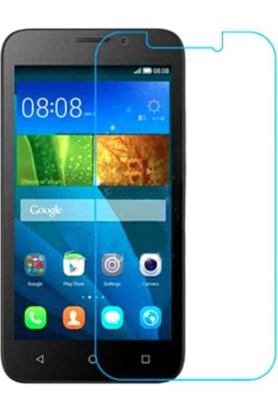 HerBütçeye Maxi Huawei Y5C Şeffaf Temperli Cam