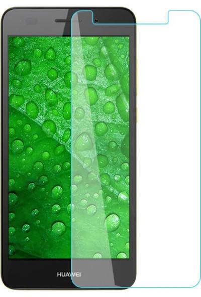 HerBütçeye Maxi Huawei Y6 2 Şeffaf Temperli Cam
