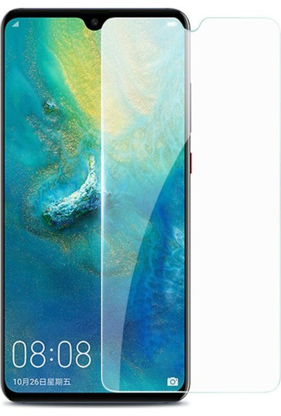 HerBütçeye Maxi Huawei Y7 2019 Şeffaf Temperli Cam